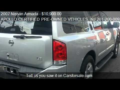 2007 Nissan Armada Le Ffv 4dr Suv 4wd For Sale In Jersey