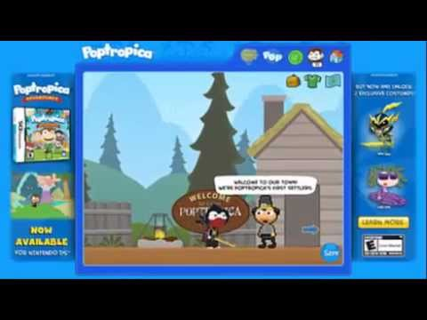 Early Poptropica Walkthrough