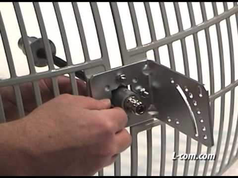 How To Assemble and Install A HyperLink Grid Antenna