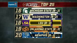 Michigan State stays steady in Week 13 of the College Football Playoff Rankings | ESPN