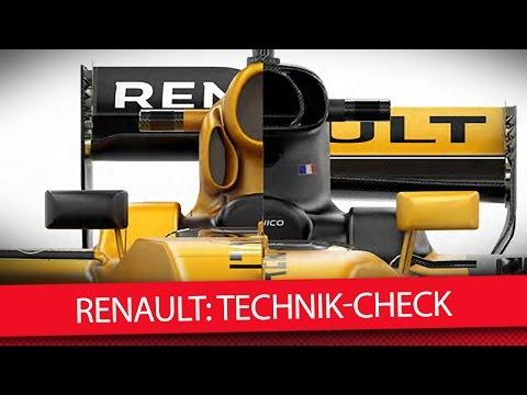 Renault R.S.17: Technik-Check | Renault Technic Details 2017