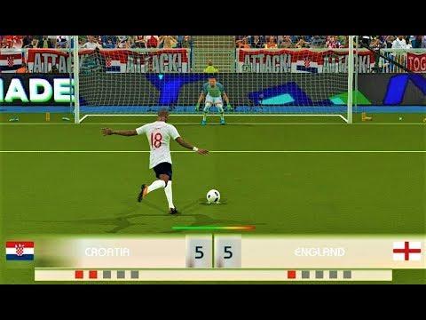 CROATIA vs ENGLAND   Penalty Shootout 2018   PES 2018 Gameplay HD thumbnail