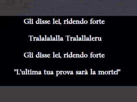Fabrizio De Andre - La Ballata Dellamore Perduto