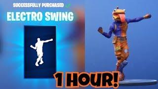 "[NEW] ""Electro Swing"" 1 HOUR - New Emote - Fortnite Battle Royale"