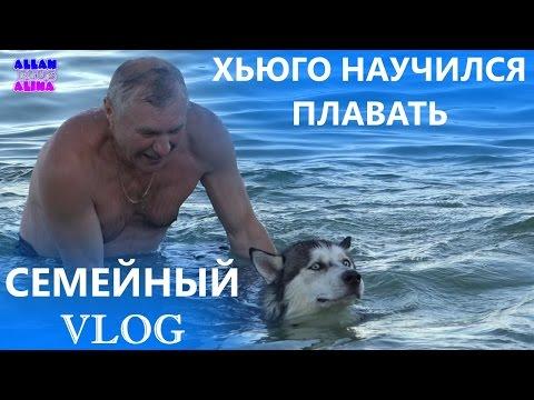 ВЛОГ - Хьюго начал плавать