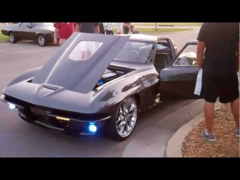Corvette Stingray Horsepower on 1964 Corvette Coupe C2 Zr1 With Vibe Audio At Sema 2010   638 Hp
