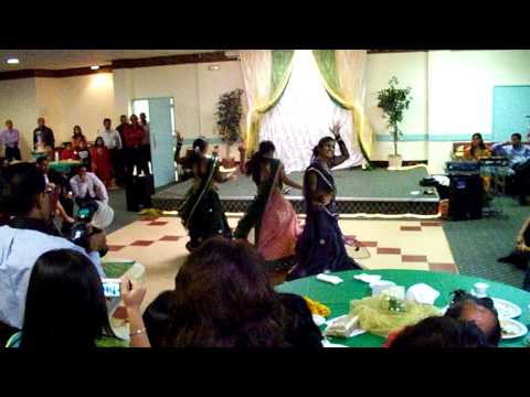 Mounish and Deepals engagement BOLLYWOOD DANCE!! with anjaana...
