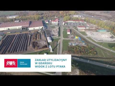 Film Z Lotu Ptaka - Zakład Utylizacyjny W Gdańsku – Szadółkach
