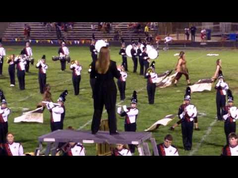 Clinton High School Marching Band ....Senior Night....   10-09-11