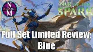 War of the Spark Limited Set Review:  Blue