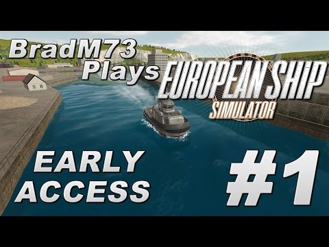 European Ship Simulator - Early Access Alpha - Episode 1