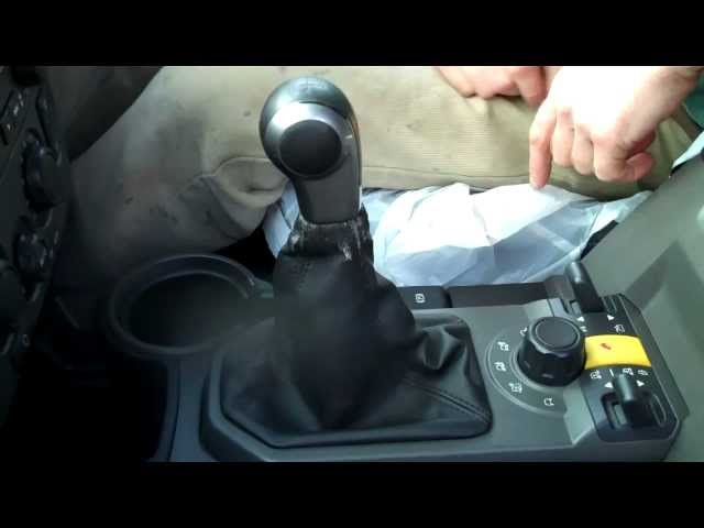 How to change the gear knob / gear lever gaiter on Land ...