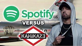 Spotify Ranks the Songs on Eminem Kamikaze, Do You Agree?