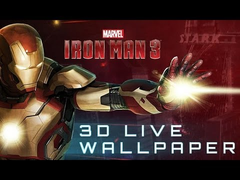 Iron Man 3 Live Wallpaper APK Cover
