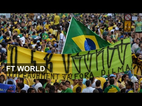 Anti-government protests hit Brazil