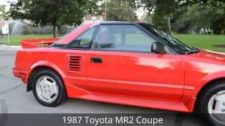 1987 Toyota MR2 AW11 T-Top Coupe - FOR SALE - Boise, Idaho