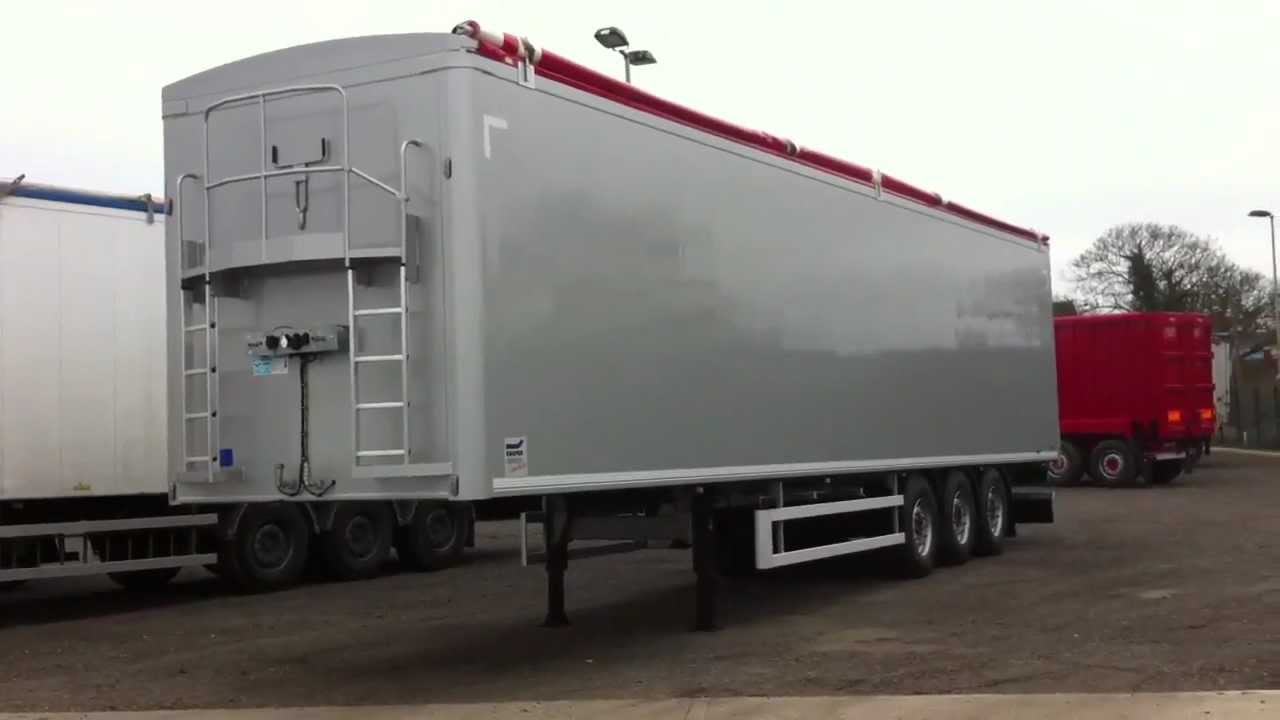 2014 Knapen Walking Floor Trailer Youtube