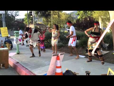 Danzantes at Los Angeles Mission College (4/23/14)