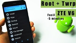 Como hacer Root Zte V6 | Root + Recovery Twrp |Sin pc |super facil | Tecnocat