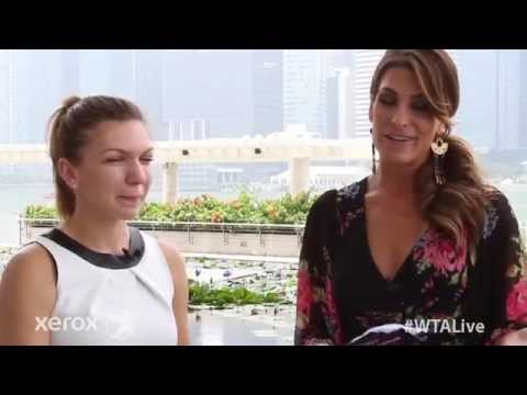 Simona Halep | WTA Live All Access Hour presented by Xerox | 2014 WTA Finals