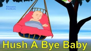 3D Animation Rhymes Hush A Bye Baby English Nursery Rhymes for Children With Lyrics