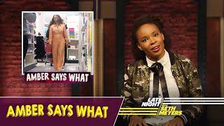 Amber Says What: Kamala Harris Is Running for President, Beyoncé Shopping at Target