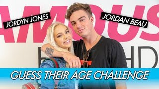 Download Lagu Jordyn Jones vs. Jordan Beau    Guess Their Age Challenge! Gratis STAFABAND