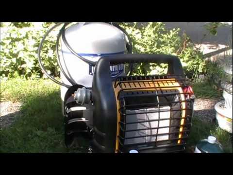Redundant Heat Sources: Yukon M-1950/Kerosene Heater/Big Buddy