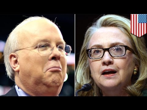Hillary Clinton has brain damage says Karl Rove in 2016 presidential race attack