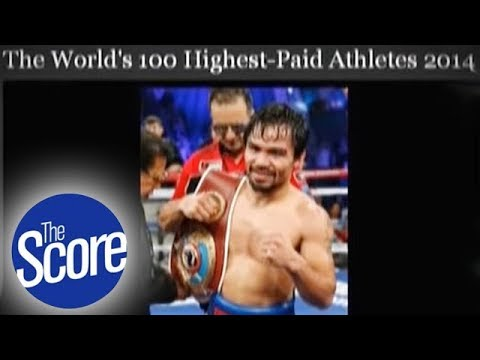 Pacman, included in Forbes' highest-paid athletes list