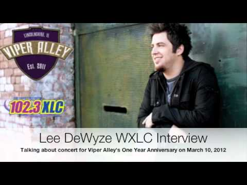 American Idol season 9 winner Lee DeWyze has a interview with WXLC before coming to Viper Alley's One Year Anniversary on March 10, 2012. www.viper-alley.com. 847-499-5000.