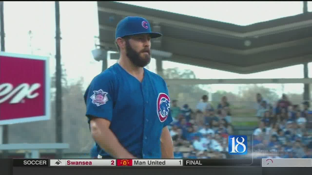 Arrieta pitches no-hitter for Cubs in 2-0 win over Dodgers