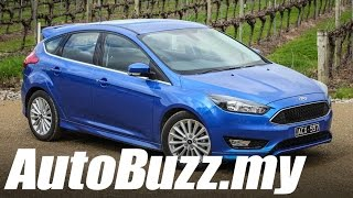 2016 Ford Focus EcoBoost review in Adelaide - AutoBuzz.my