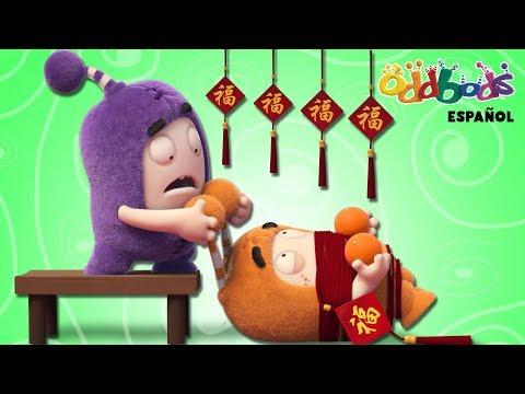 Año Nuevo Chino con Oddbods | Caricaturas Graciosas Para Niños