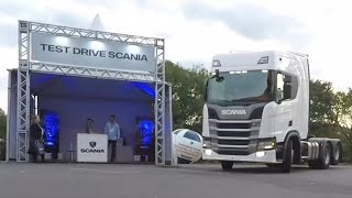 TEST DRIVE SCANIA R450.(EP87/19)