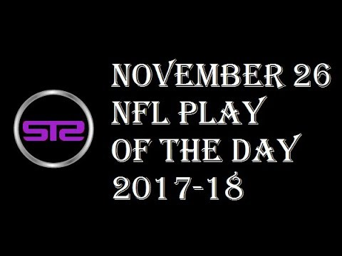Week 12 - November 26, 2017 - NFL Pick of The Day - Today NFL Picks ATS Tonight - 11/26/17