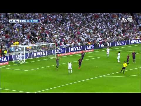 Real Madrid - FC Barcelona FULL MATCH 25.10.14 ( 2 połowa)