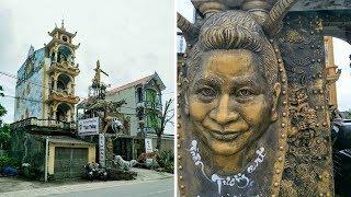 Độc lạ: Biệt thự 'kỳ quái' ở Hưng Yên và những điều chưa biết lần đầu được chủ nhân hé lộ