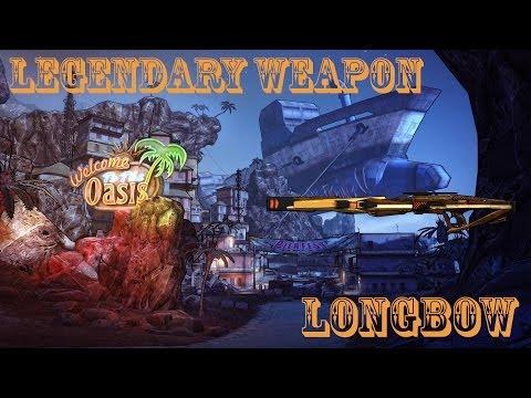Borderlands 2 легендарные пушки - #6 Longbow(Лук) + Blockhead(Чурбан)