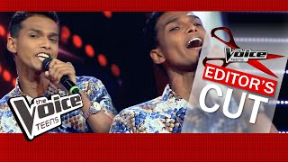 Kavishka Deshan | Folk Poetry | Blind Auditions | The Voice Teens Sri Lanka