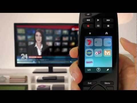 Setting Up the Logitech Harmony Touch Remote