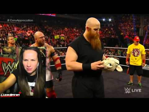 WWE Raw 1/5/15 Steph FIRES Dolph Ryback and Rowen Live Commentary