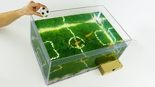 How to Make Unique Aquarium Football World Cup 2018 at Home