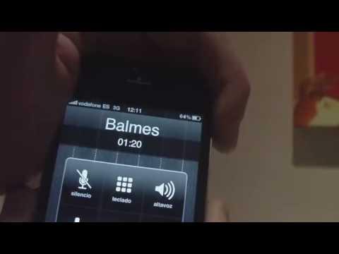 Pruebas de cobertura en llamada - Iphone 4