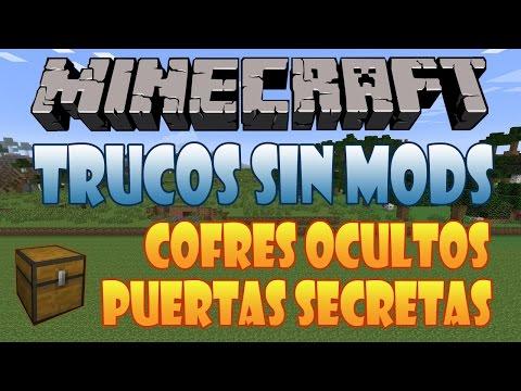 21# Como Hacer Puertas Secretas y Cofres Ocultos   Minecraft 1.7.10   Trucos Sin Mods