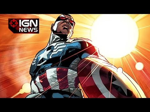Marvel Reveals The Falcon is the New Captain America - IGN News