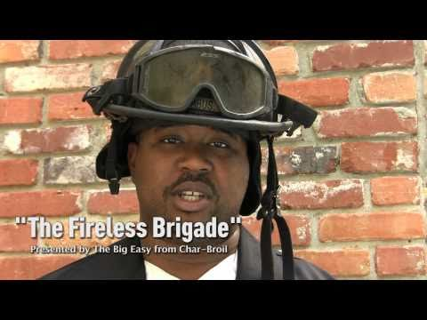 &quot;The Fireless Brigade&quot; Presented by The Big Easy from Char-Broil