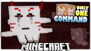 Minecraft 1.9 | MUTANT GHAST'S DIAMOND TREASURE | Custom Command