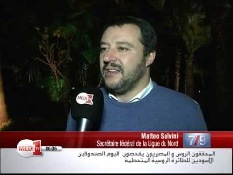 Matteo Salvini soutient la position du Maroc dans le dossier du Sahara marocain
