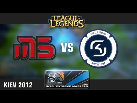 IEM Kiev League of Legends - Semi-Final: SK Gaming vs. Moscow Five